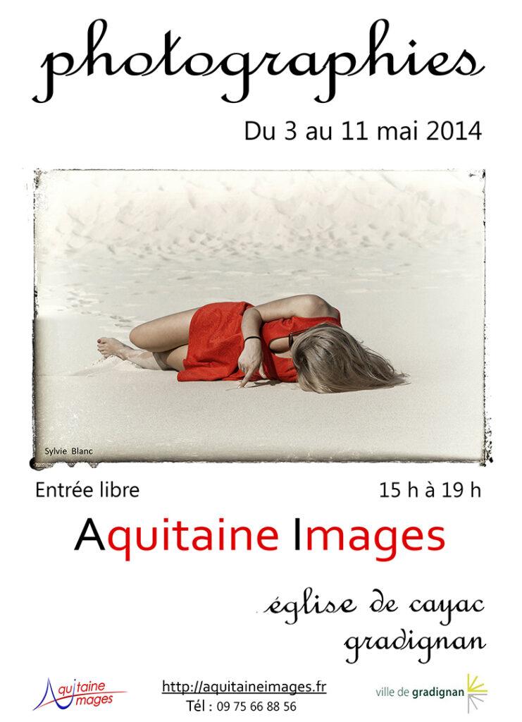 Exposition photographique Aquitaine Images 2014 du 3 au 11 mai à l'église de Cayac de Gradignan